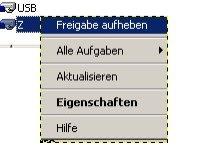 Heimnetzwerk-Anleitung: Auf Netzwerkfreigabe und Windows zugreifen - Verwaltungskonsole Freigabe aufheben