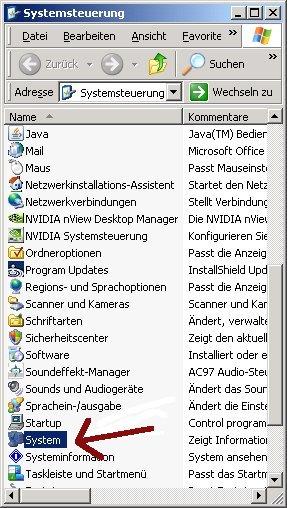 Ein Wlan-Netzwerk unter Windows einrichten! Systemsteuerung Menüpunkt System