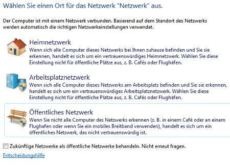 Heimnetzwerk Tutorials: Windows 7 Heimnetzwerk erstellen - Heimnetzgruppe auswählen