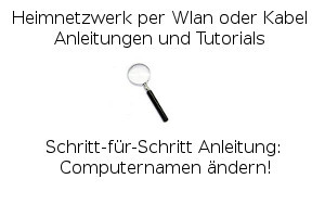 Anleitung: Computernamen ändern