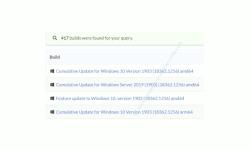 Windows 10 Tutorial - Eine DVD mit einer aktuellen oder älteren Windows 10 Version erstellen! - Anzeige aller Windows 10 Versionen einer bestimmten Versionsnummer für die eine iso-Datei erstellt werden kann