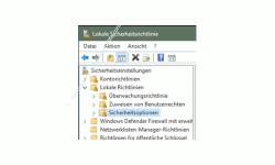 Windows 10 Tutorial - Den Super-Admin Modus freischalten - Anzeige Lokale Richtlinien Sicherheitsoptionen