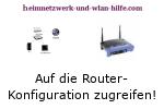 Auf die Router-Konfiguration zugreifen!