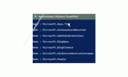 Windows 10 Tutorial - Nicht löschbare Apps mit Hilfe der PowerShell Kommandozeile löschen - Auflistung von installierten Apps in der PowerShell