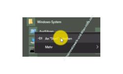 Windows 10 Tutorial - Ausführen Fenster Dialog an das Startmenü anheften