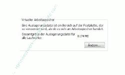 Die Windows 7 Auslagerungsdatei anpassen - Virtueller Speicher, Buton Ändern