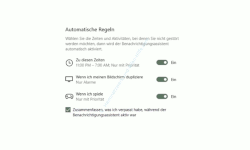 Windows 10  Tutorial - Die Anzeige von Benachrichtigungen im Infocenter anpassen! - Automatische Regeln zum Anzeigen von Benachrichtigungen festlegen