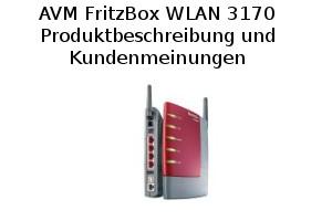 AVM FritzBox WLAN 3170 - Produktinformationen