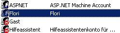 Netzwerk-Anleitung: Windows Passwort über die zentrale Gruppenverwaltung ändern! Computerverwaltung - Benutzer markieren