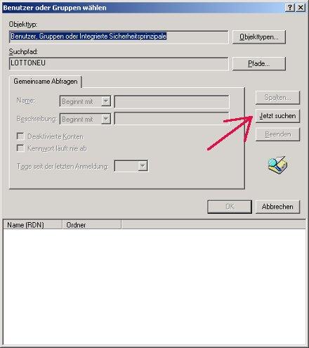 Windows Netzwerk Tutorial: Windows Zugriffsrechte für Ordner und Dateien einrichten! Benutzer Benutzergruppe Jetzt suchen