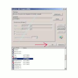 Windows Netzwerk Anleitung: Berechtigungen für Zugriffe auf Dateien und Ordner deiner Computer vergeben! Benutzer Benutzergruppe OK