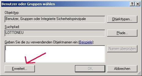 Windows Netzwerk Anleitung: Berechtigungen für Zugriffe auf Dateien und Ordner deiner Computer vergeben! Benutzer Benutzergruppe Erweitert