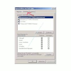 Windows Netzwerk Anleitung: Berechtigungen für Zugriffe auf Dateien und Ordner deiner Computer vergeben! Datei Register Sicherheit