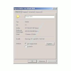 Windows Netzwerk Anleitung: Berechtigungen für Zugriffe auf Dateien und Ordner deiner Computer vergeben! Windows Order Fenster Eigenschaften