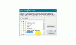Windows 10 Tutorial - Einen USB-Stick Datenträger oder anderes Laufwerk ohne die Vergabe eines Laufwerksbuchstabens in dein System einbinden! - Ordner, der für die Einbindung eines Laufwerkes ohne Laufwerksbuchstaben zur Verfügung gestellt wird