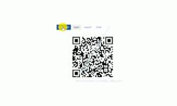 Windows 10 Netzwerk-Tutorial - Die Wlan-Zugangsdaten ganz einfach per QR-Code an deine Gäste weitergeben! - QR-Code Generator: Button Generate zum Erzeugen des QR-Codes mit den Infos für den Zugang zum Wlan-Netzwerk
