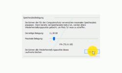 Windows 10 Tutorial - Systemwiederherstellungspunkte löschen – Button zum Löschen aller Wiederherstellungspunkte