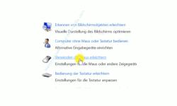 Windows 10 Tutorial - Ein Fenster durch Zeigen mit der Maus aktivieren! - Center für erleichterte Bedienung – Verwenden der Maus erleichtern