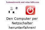 Computer per Netzschalter herunterfahren