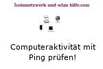 Aktivität eines Rechners mit Ping prüfen