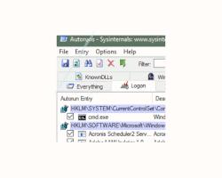 Windows 10 Tutorial - Automatisch startende Programme mit dem Tool Autoruns aufdecken - Das Register Logon von Autoruns enthält eine Liste mit automatisch startenden Programmen