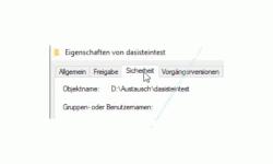 Windows 10 Tutorial - Den Zugriff auf Ordner und Dateien eines Computers überwachen! - Das Register Sicherheit des zu überwachenden Ordners