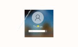 Windows 10 Tutorial - Das verschwommene Hintergrundbild am Anmeldebildschirm von Windows 10 deaktivieren, um wieder das klare Hintergrundbild anzuzeigen! - Das verschwommene Hintergrundbild beim Windows-Anmeldebildschirm