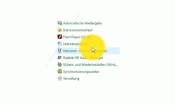 Windows 10  Tutorial - Kennwortgeschützte Freigaben deaktivieren! - Das Systemsteuerungselement Netzwerk- und Freigabecenter aufrufen