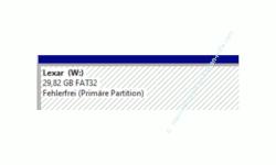 Windows 10 Tutorial - Datenträger, Partitionen, CD- und DVD-Laufwerke verstecken, um den Zugriff auf diese zu verhindern! - Datenträgerverwaltung: Anzeige des Laufwerkes mit Laufwerksbuchstaben