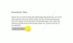 Windows 10 Tutorial - Windows 10 im abgesicherten Modus starten, um Probleme mit Treibern, Schadsoftware oder Viren schnell zu lösen! - Den Computer über die Konfiguration Erweiterter Start neu starten