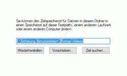 Windows 10 Tutorial - Ordner aus Benutzerverzeichnis verschieben – Den neuen Speicherort für den verschobenen Ordner Videos aus dem Benutzerverzeichnis bestätigen