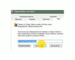 Windows 10 Tutorial - Ordner aus Benutzerverzeichnis verschieben – Den Pfad zum neuen Speicherort des Benutzerverzeichnisses Videos angeben