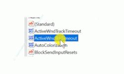 Windows 10 Tutorial - Ein Fenster durch Zeigen mit der Maus aktivieren! - Der Registry Dword-Wert ActiveWndTrkTimeout