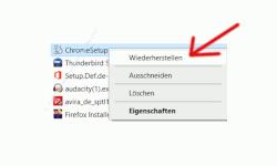 Windows 10 Tutorial - Wichtige Einstellungen, um den Papierkorb von Windows richtig zu konfigurieren! - Der Wiederherstellen-Befehl für ein gelöschtes Element, das sich im Papierkorb befindet