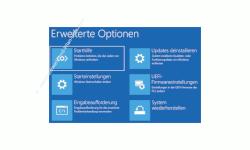 Windows 10 Tutorial - Windows 10 im abgesicherten Modus starten, um Probleme mit Treibern, Schadsoftware oder Viren schnell zu lösen! - Die erweiterten Optionen des Wiederherstellungs- und Reparaturmenüs