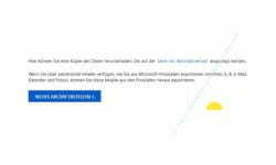 Windows 10 Tutorial - Was weiß Microsoft über mich? Welche Daten werden von mir gesammelt? - Die über mich von Microsoft gespeicherten Daten als downloadbares Archiv herunterladen