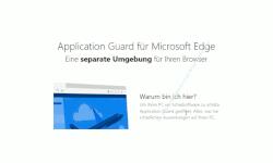 Windows 10 Tutorial - Den Edge-Browser in einer sicheren virtuellen Schutzumgebung nutzen, die vor Malware und Viren schützt! - Die Website Application Guard für Microsoft Edge