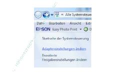 Netzwerk Tutorial: DNS-Serverprobleme beheben - Windows 7 - Link im Netzwerk- und Freigabecenter - Adaptereinstellungen ändern