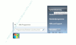 Netzwerk Tutorial: DNS-Serverprobleme beheben - Die Windows 7 Systemsteuerung öffnen