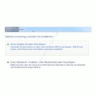 Heimnetzwerk Tutorials: Drucker im Windows 7 Netzwerk gemeinsam nutzen - Druckertyp auswählen