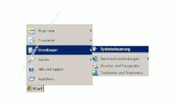 Netzwerk Tutorial: Die Eigenschaften einer Windows Netzwerkverbindung anzeigen lassen! Start, Einstellungen, Systemsteuerung