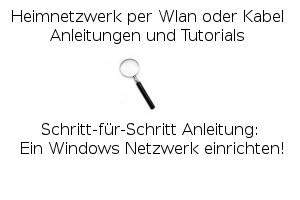 Ein Windows Netzwerk einrichten