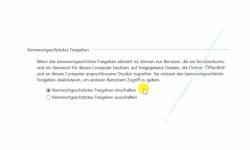Windows 10 Tutorial - So aktivierst und speicherst du die Option: Kennwortgeschütztes Freigeben ausschalten! - Erweiterte Freigabeeinstellungen – Alle Netzwerke – Bereich: Kennwortgeschütztes Freigeben