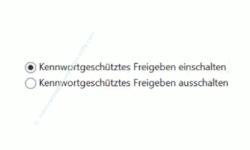 Windows 10 Tutorial - So aktivierst und speicherst du die Option: Kennwortgeschütztes Freigeben ausschalten! - Erweiterte Freigabeeinstellungen – Einstellung: Kennwortgeschütztes Freigeben ausschalten