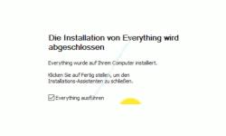 Windows 10 Tutorial - Everything für eine schnelle Dateisuche nutzen! – Everything sofort nach der Installation starten