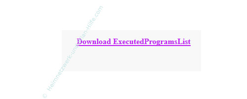 Tutorial zu Executed Programs List – Der Download-Link