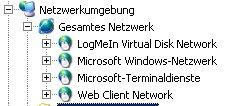 Windows Arbeitsgruppen im Windows Explorer anzeigen lassen - Anzeige einer komplett geöffneten Netzwerkstruktur