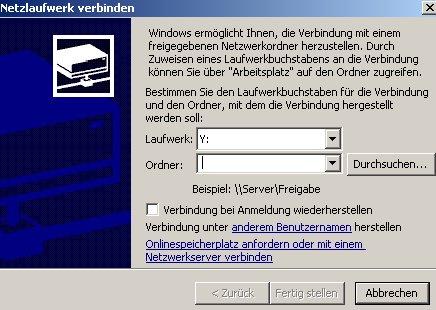 Schritt für Schritt Anleitung: Netzlaufwerk verbinden mit Hilfe des Windows Explorers - fenster-netzlaufwerk-verbinden