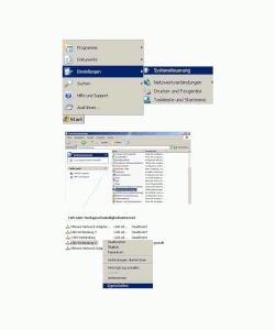 Netzwerk Tutorials: Windows 7 Heimnetzgruppe beitreten - Windows XP Eigenschaften der Netzwerkverbindung