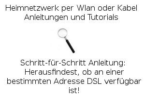 DSL-Verfügbarkeit prüfen